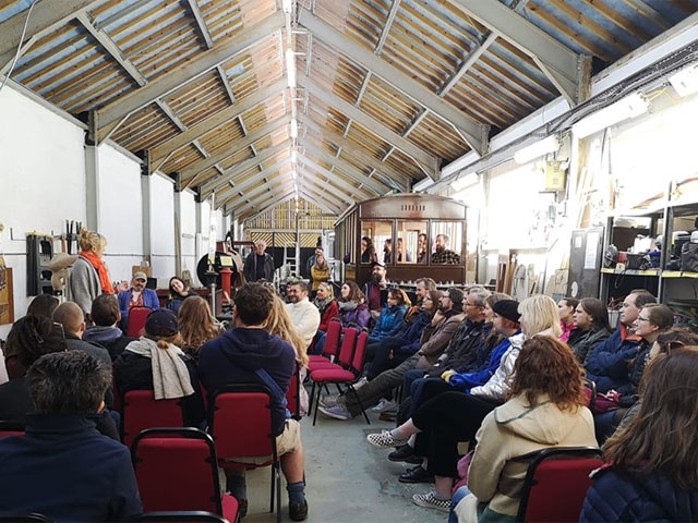Mach Comedy Festival in Carriage Shed - 040519