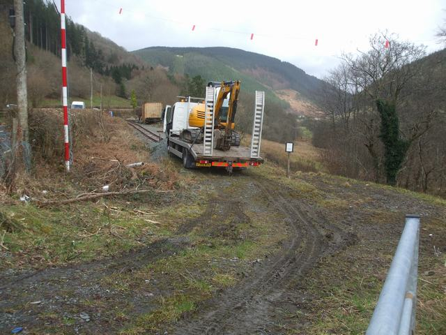 Southern Extension. Pont y Goedwig Deviation Project. Sunday, 1.3.2020