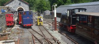 All locos in the yard at Maespoeth Junction