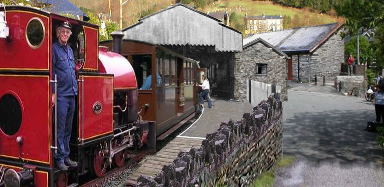 The New Corris Station