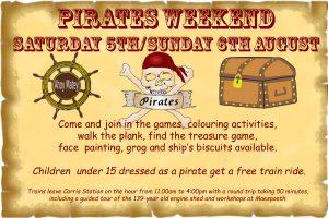 Pirates Weekend 2017