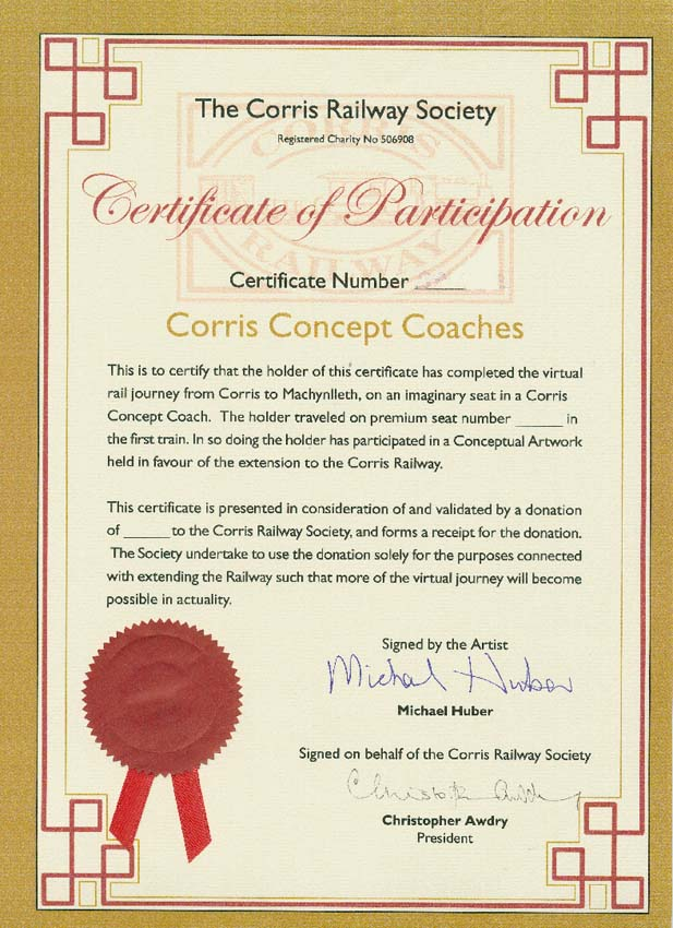 Corris Concept Coaches - Premium Ticket